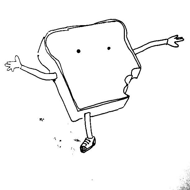 Good Morning Mr. Toast!